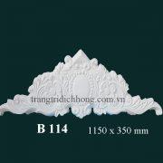 Phù điêu thạch cao B114
