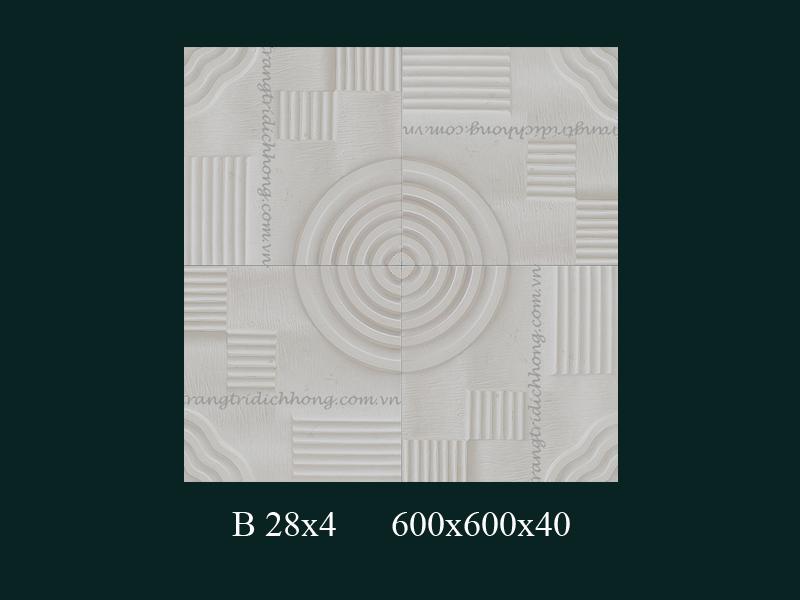 Phù điêu thạch cao B28x4