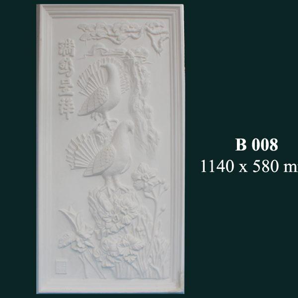 Phù điêu thạch cao B 008