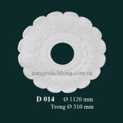 Hoa đèn thạch cao D 014
