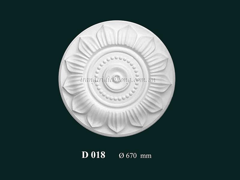 Hoa đèn thạch cao D 018