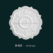 Hoa đèn thạch cao D 023