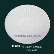 Hoa đèn thạch cao D 028