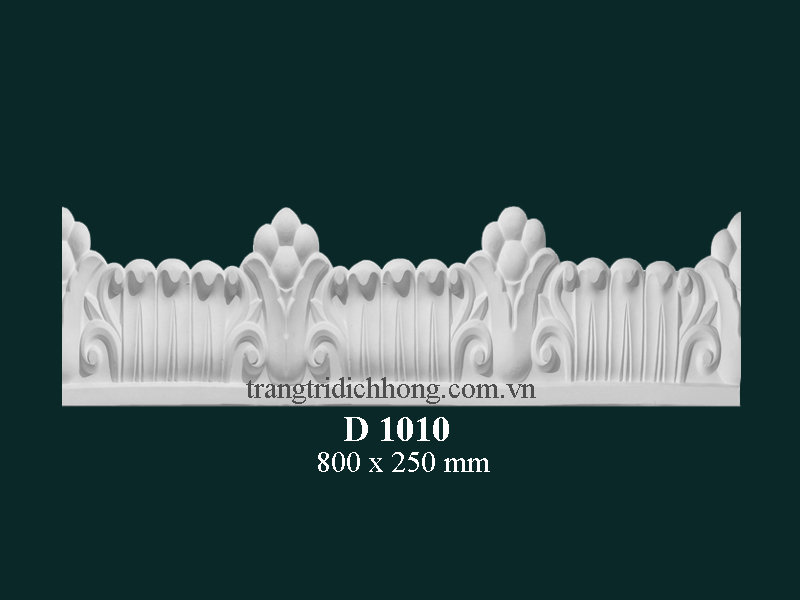 Hoa đèn thạch cao D 1010