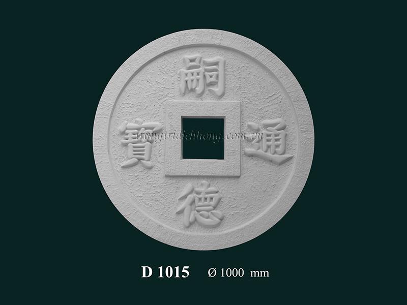 Hoa đèn thạch cao D 1015