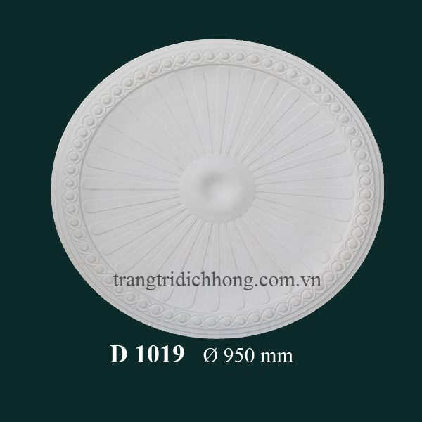 Hoa đèn thạch cao D 1019