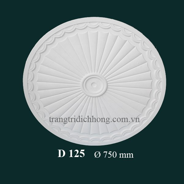Hoa đèn thạch cao D 125