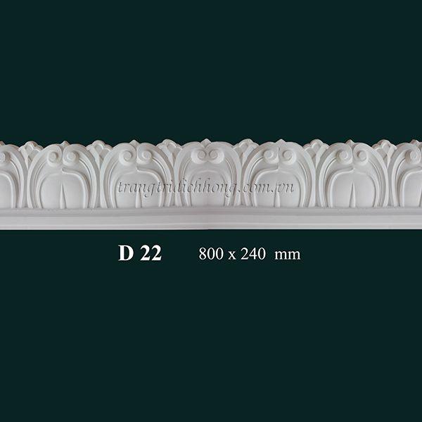 Hoa đèn thạch cao D 22