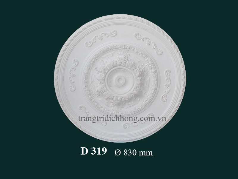 Hoa đèn thạch cao D 319