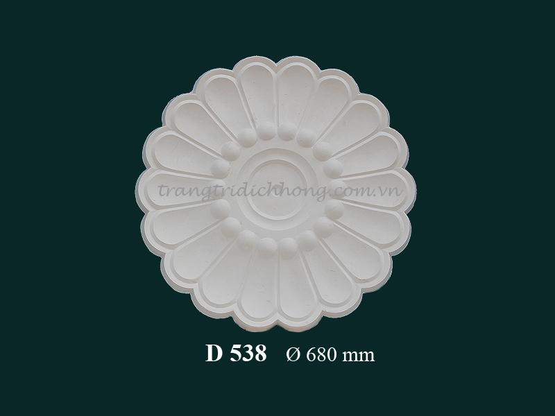 Hoa đèn thạch cao D 538