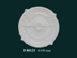 Hoa đèn thạch cao D 80131