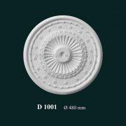 Hoa đèn thạch cao D 1001