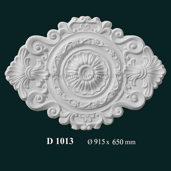 Hoa đèn thạch cao D 1013