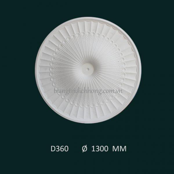 Hoa đèn thạch cao D 360